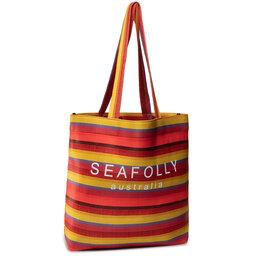 Seafolly Сумка Seafolly Baja Stripe Neoprene Tote 71561-BG Saffron