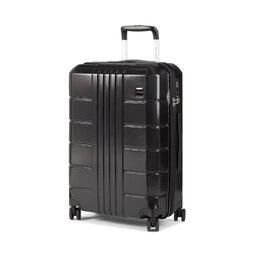 Wittchen Середня тверда валіза Wittchen 56-3P-822-10 Чорний