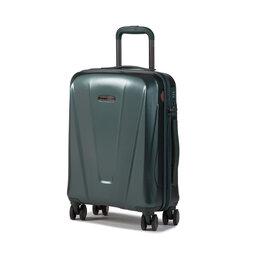 Wittchen Мала тверда валіза Wittchen 56-3P-121-85 Зелений