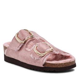 Scholl Naminės šlepetės Scholl Ilary Fluffy F29534 2164 Antique Pink