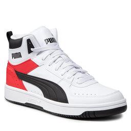 Puma Снікерcи Puma Rebound Joy 374765 09 White/Black/High Risk Red