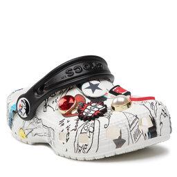 Crocs Šlepetės Crocs Classic Cruella Clog K 207397 White