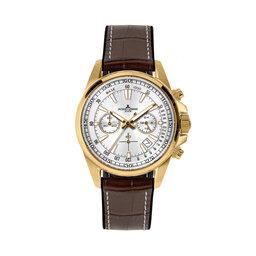 Jacques Lemans Годинник Jacques Lemans 1-2117F SS/Steel Ip/Gold