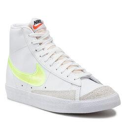 Nike Взуття Nike W Blazer Mid '77 Ess DJ3050 100 White/Volt/Orange/Black