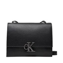 Calvin Klein Jeans Rankinės Calvin Klein Jeans Minimal Monogram Sm Flap Xbody K60K608385 BDS