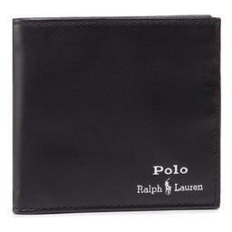 Polo Ralph Lauren Didelė Vyriška Piniginė Polo Ralph Lauren Mpolo Co D2 405803866002 Black