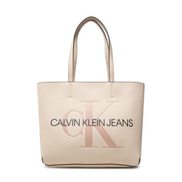 Calvin Klein Jeans Rankinė Calvin Klein Jeans Sculpted Shopper 29 Mono K60K608374 AEO