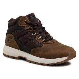 Helly Hansen Трекінгові черевики Helly Hansen Kemano Boot 11610 080 Oatmeal/Coffee Bean/Mulch/Sperry Gum