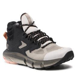 Salomon Turistiniai batai Salomon Predict Hike Mid Gtx W GORE-TEX 414605 20 V0 Vintage Kaki/Black/Mocha Mausse