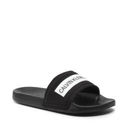 Calvin Klein Jeans Шльопанці Calvin Klein Jeans Slide Tape Inst Co YM0YM00257 Black BDS