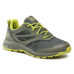 Jack Wolfskin Трекінгові черевики Jack Wolfskin Woodland Low K 4042171 Khaki/Green