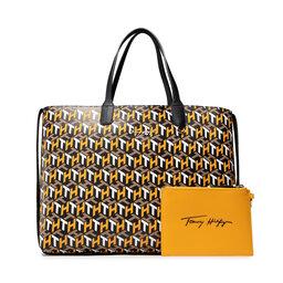 Tommy Hilfiger Rankinės Tommy Hilfiger Iconic Tommy Tote Monogram AW0AW10766 ZEY