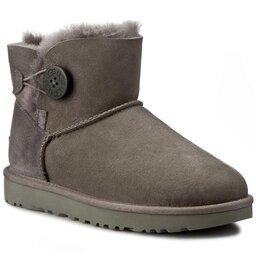 Ugg Взуття Ugg W Mini Bailey Button II 1016422 W/Grey
