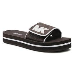 MICHAEL Michael Kors Шльопанці MICHAEL Michael Kors Mk Platform Slide 40S1MKFA2B Brown