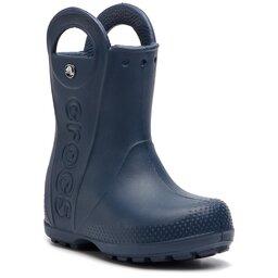 Crocs Гумові чоботи Crocs Handle It Rain Boot Kids 12803 Navy