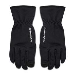 Jack Wolfskin Чоловічі рукавички Jack Wolfskin Stormlock Hydro Glove 1909162 Black