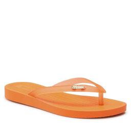 Melissa Šlepetės per pirštą Melissa Sun Flip Flop 33493 Orange/Orange Clear 53741