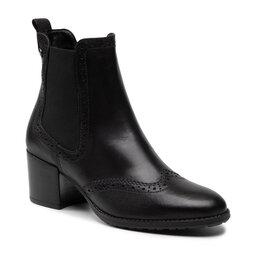 Tamaris Ботильйони Tamaris 1-25005-27 Black Leather 003