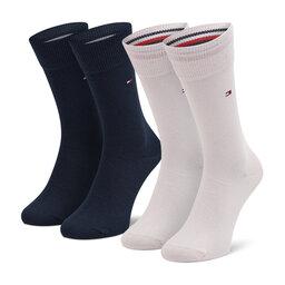 Tommy Hilfiger Vyriškų ilgų kojinių komplektas (2 poros) Tommy Hilfiger 371111 Pink/Blue 102