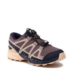 Salomon Взуття Salomon Speedcross Cswp J 409577 13 M0 Flint/Evening Blue/Bellini