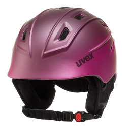 Uvex Шолом для сноуборду Uvex Fierce S5662259303 Berry Mat