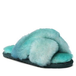 EMU Australia Naminės šlepetės EMU Australia Mayberry Tie Dye Teens T12630 Green Sea/Mer Verte
