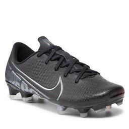 Nike Batai Nike Jr Vapor 13 Academy Fg/Mg AT8123 001 Black/Mtlc Cool Grey/Cool Grey