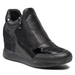 Geox Laisvalaikio batai Geox D Nydame A D620QA 085PZ C9999 Black