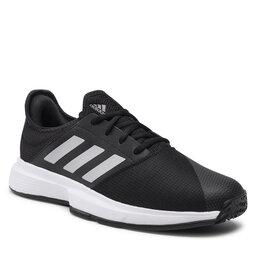 adidas Batai adidas GameCourt M GZ8515 Cblack/Msilve/Ftwwht
