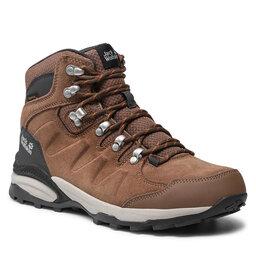 Jack Wolfskin Трекінгові черевики Jack Wolfskin Refugio Texapore Mid W 4050871 Brown/Apricot
