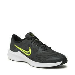 Nike Взуття Nike Downshifter 11 (GS) CZ3949 011 Dk Smoke Grey/Volt/Black/White