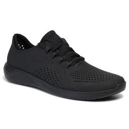 Crocs Туфлі Crocs Literide Pacer M 204967 Black/Black