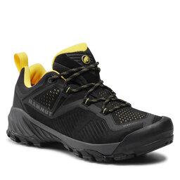 Mammut Трекінгові черевики Mammut Sapuen Low Gtx GORE-TEX 3030-04260-00574 Black/Dark Blazing
