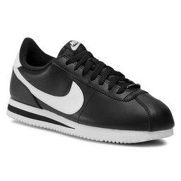 Nike Взуття Nike Cortez Basic Leather 819719 012 Black/White/Metallic Silver