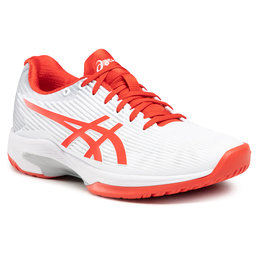 Asics Batai Asics Solution Speed Ff 1042A002 White/Fiery Red 104