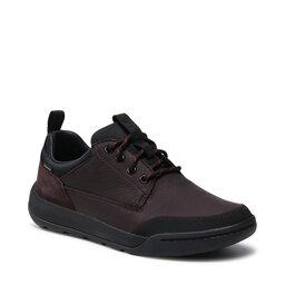 Clarks Pusbačiai Clarks Ashombelo Gtx GORE-TEX 261520837 Brown Leather