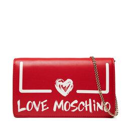 LOVE MOSCHINO Rankinės LOVE MOSCHINO JC4289PP0DKE150A Rosso/Bianco