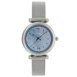 Fossil Годинник Fossil Carlie Mini ES5083 Silver/Blue