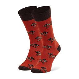 Cup of Sox Високі шкарпетки unisex Cup of Sox Z Siekierą Na Osy Czerwone