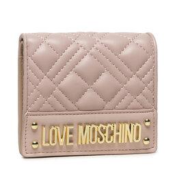 LOVE MOSCHINO Maža Moteriška Piniginė LOVE MOSCHINO JC5601PP0DLA0600 Rosa