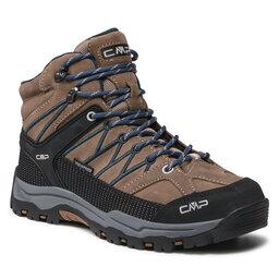 CMP Turistiniai batai CMP Kids Rigel Mid Trekking Shoe Wp 3Q12944J Castoro P773
