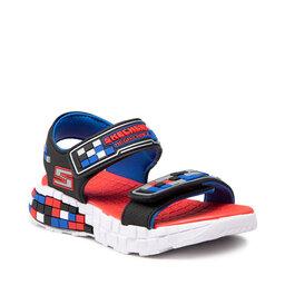 Skechers Босоніжки Skechers Craft Sandal 400070L/BKSR Black/Silver/Red