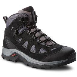 Salomon Трекінгові черевики Salomon Authentic Ltr Gtx GORE-TEX 404643 33 V0 Magnet/Black/Quiet Shade