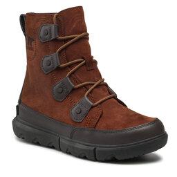 Sorel Sniego batai Sorel Explorer Boot Wp NM4499 Dark Amber/Buffalo 242