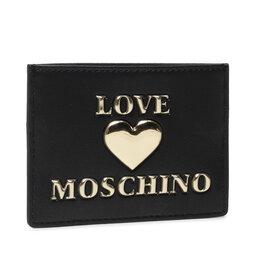 LOVE MOSCHINO Чохол для кредиток LOVE MOSCHINO JC5619PP1DLF0000 Nero