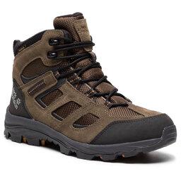 Jack Wolfskin Трекінгові черевики Jack Wolfskin Vojo 2 Texapore Mid M 4042461 Khaki/Phantom