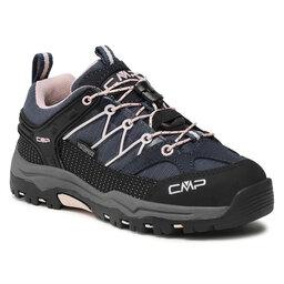 CMP Трекінгові черевики CMP Kids Rigel Low Trekking Shoe Wp 3Q54554 Asphalt/Rose 54UG