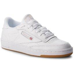 Reebok Batai Reebok Club C 85 BS7686 White/Light Grey/Gum