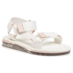 Melissa Босоніжки Melissa Papete + Rider Ad 32537 Clear/White/Pink 53659
