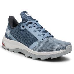 Salomon Трекінгові черевики Salomon Outbound Prism W 412679 20 M0 Ashley Blue/Copen Blue/Pearl Blue